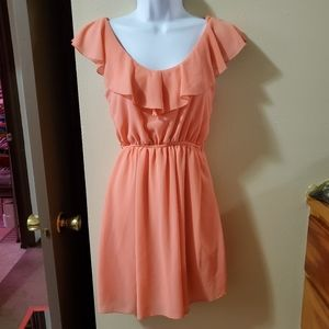 Rue 21 Peach Dress